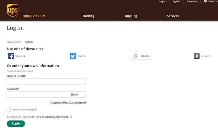 UPSers-Login-Official